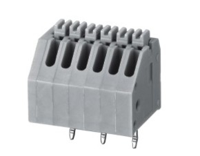 China 2.5mm Spring Terminal Block