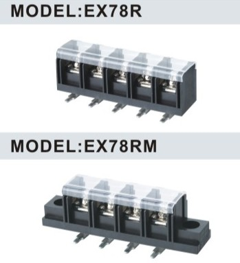 EX78R 13.0mm Barrier Terminal Blocks